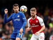 Bóng đá - Chi tiết Chelsea - Arsenal: Chủ nhà tạm hài lòng (KT)