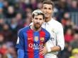 Tin HOT bóng đá tối 17/9:  Messi rê bóng 4 trận chấp Ronaldo cả mùa