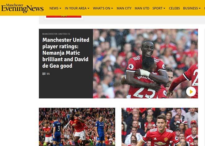 MU đại thắng 4 sao: Báo Anh thán phục Mourinho, ca ngợi Lukaku - 4