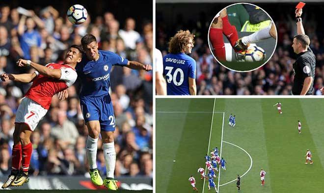 Hậu đại chiến Chelsea – Arsenal: Wenger đòi 3 điểm, Conte cay cú thẻ đỏ - 1