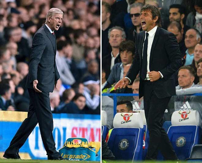 Hậu đại chiến Chelsea – Arsenal: Wenger đòi 3 điểm, Conte cay cú thẻ đỏ - 2