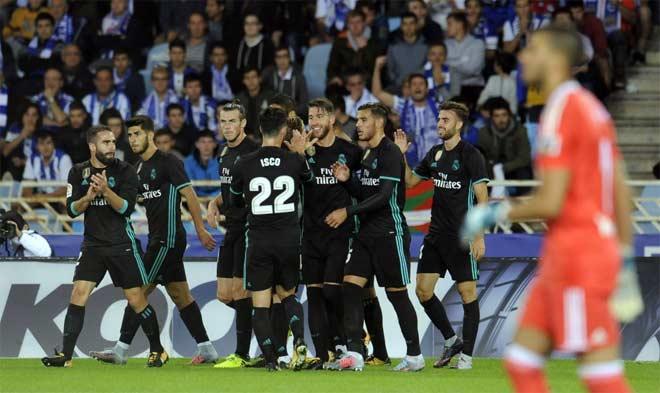 Real Sociedad - Real Madrid: Cánh chim lạ rực sáng, vỡ òa với siêu sao - 1