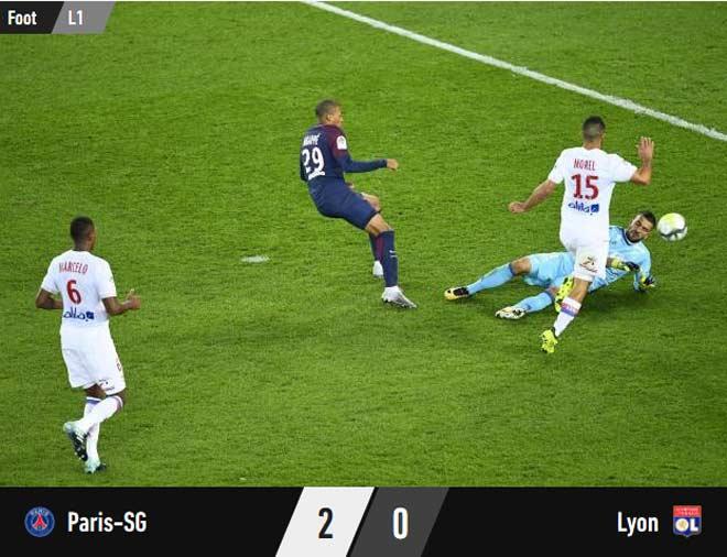PSG – Lyon: Đôi công máu lửa, phản lưới kì lạ - 1