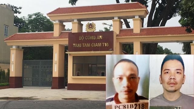 Vụ 2 tử tù bỏ trốn: Hàng loạt cán bộ trại giam bị tạm đình chỉ - 1