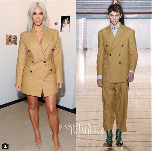 Sao và người mẫu mặc cùng thiết kế: Ai đẹp hơn ai? - 3