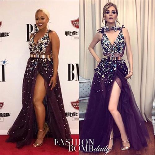 Sao và người mẫu mặc cùng thiết kế: Ai đẹp hơn ai? - 5