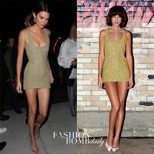Sao và người mẫu mặc cùng thiết kế: Ai đẹp hơn ai? - 9