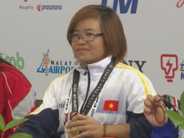 Kình ngư Việt giật 4 HCV, phá 1 kỷ lục ở ASEAN Para Games ngày 2