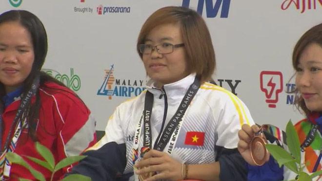 Kình ngư Việt giật 4 HCV, phá 1 kỷ lục ở ASEAN Para Games ngày 2 - 2