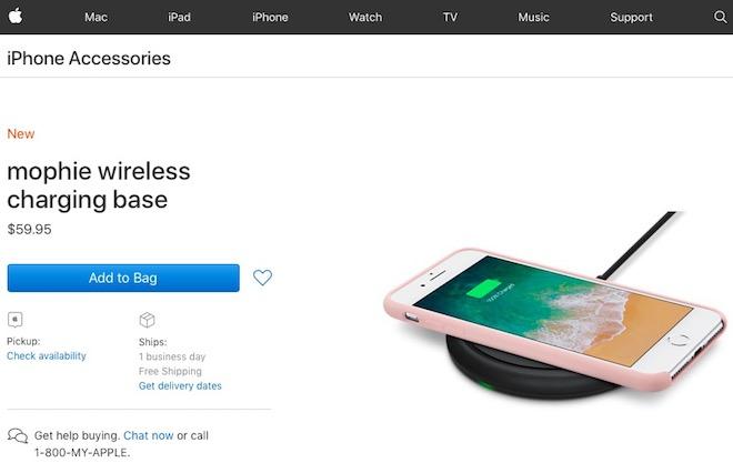 Sạc không dây cho iPhone 8 và iPhone X có giá bao nhiêu? - 1