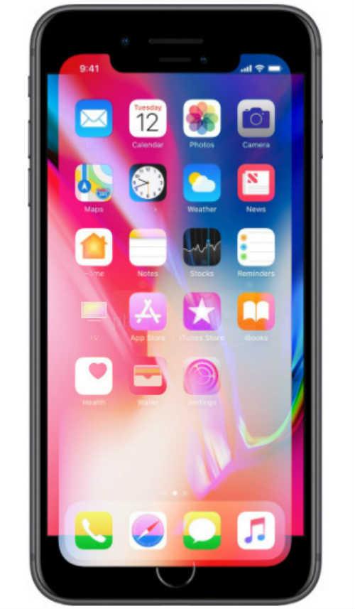 BẤT NGỜ: Màn hình iPhone X lại nhỏ hơn iPhone 8 Plus - 2
