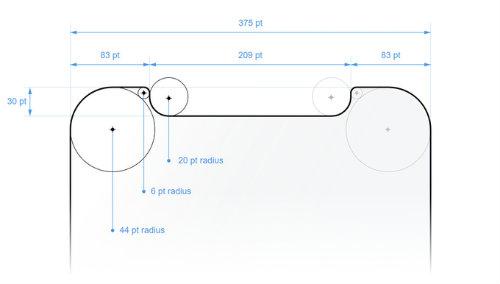 BẤT NGỜ: Màn hình iPhone X lại nhỏ hơn iPhone 8 Plus - 3