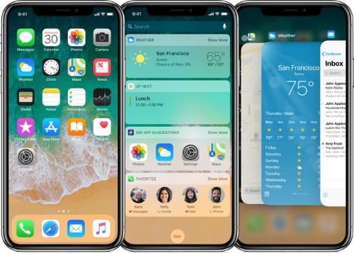 Giao diện của iPhone X có ưu, nhược điểm gì? - 1