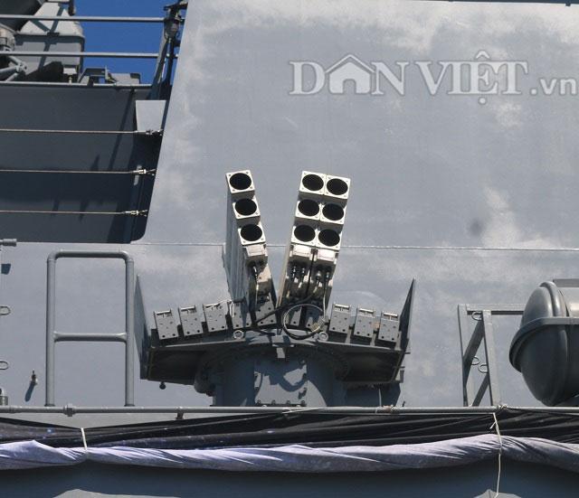 """Ngắm độ """"khủng"""" của chiến hạm Hải quân Hàn Quốc ở cảng Tiên Sa - 5"""