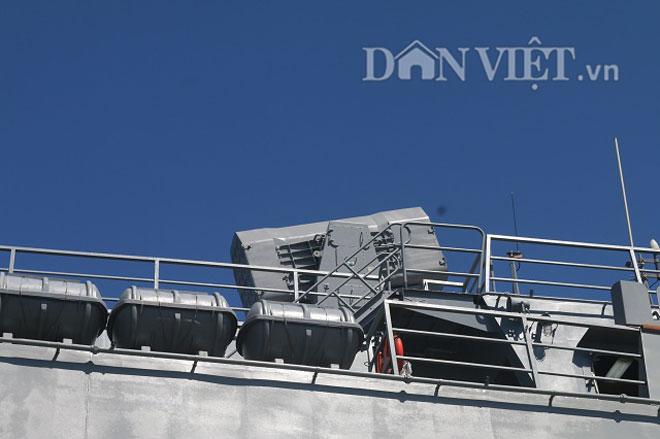 """Ngắm độ """"khủng"""" của chiến hạm Hải quân Hàn Quốc ở cảng Tiên Sa - 7"""