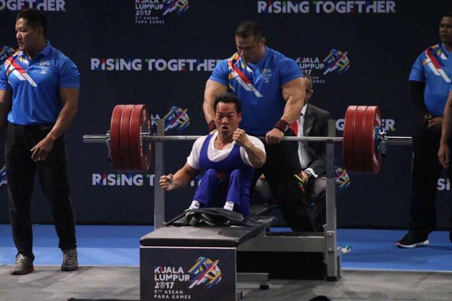 """""""Địa chấn"""" Para Games: 2 lực sỹ Việt phá sâu kỷ lục đại hội - 1"""