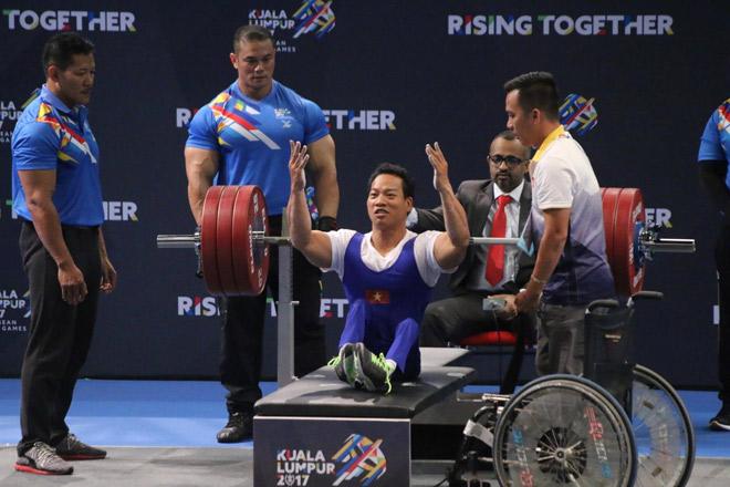 """""""Địa chấn"""" Para Games: 2 lực sỹ Việt phá sâu kỷ lục đại hội - 4"""