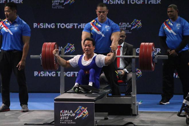 """""""Địa chấn"""" Para Games: 2 lực sỹ Việt phá sâu kỷ lục đại hội - 3"""