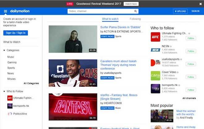 5 ứng dụng tốt nhất thay thế YouTube - 2