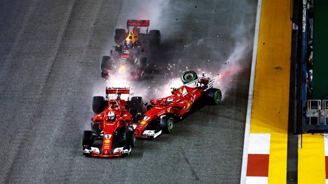 """Đua xe F1, Singapore GP: """"Ngựa chiến"""" tự sát, """"Mũi tên bạc"""" chạm vinh quang - 3"""