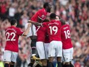 Bóng đá - Lý do MU mất ngôi đầu bảng về tay Man City dù bằng điểm
