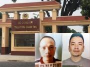 An ninh Xã hội - Vụ 2 tử tù bỏ trốn: Hàng loạt cán bộ trại giam bị tạm đình chỉ