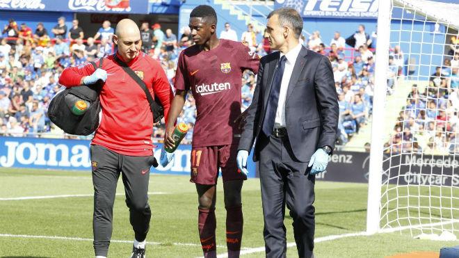 Barca mất Dembele 4 tháng: Tiết kiệm 10 triệu euro, Messi làm quân sư - 1