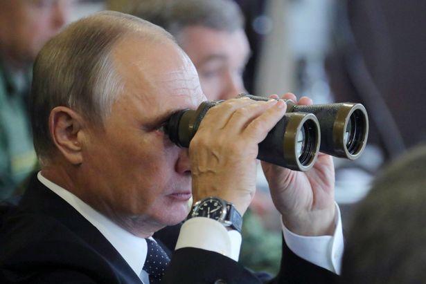 Ông Putin thị sát cuộc tập trận lớn nhất trong nhiều năm - 5