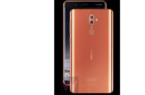 Nokia 9 lộ diện, màn hình tràn cạnh như Samsung Galaxy S8 - 2