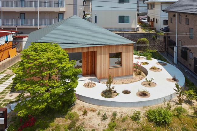 Ngôi nhà đặc biệt này nằm ở Hiroshima, Nhật Bản.