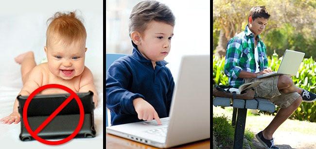 """8 cách đơn giản, hiệu quả giúp trẻ """"cai nghiện"""" công nghệ - 1"""