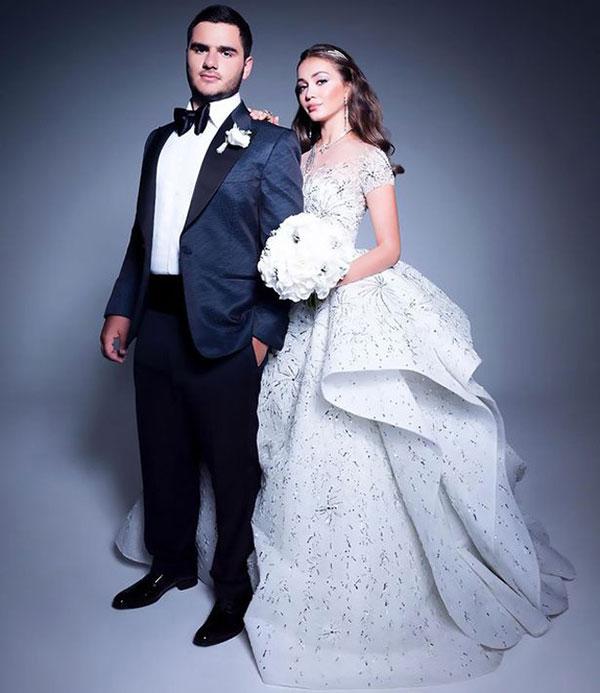 Đám cưới xa hoa bậc nhất của con trai ông trùm bất động sản Nga - 1