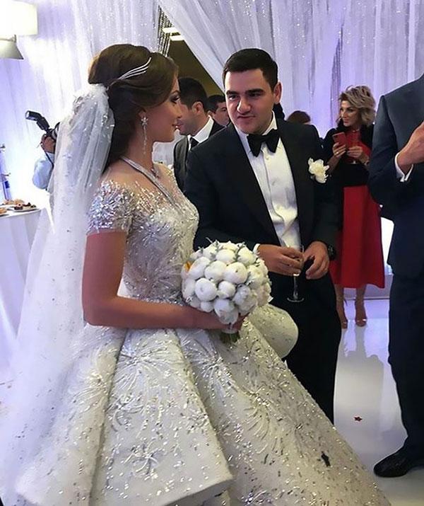 Đám cưới xa hoa bậc nhất của con trai ông trùm bất động sản Nga - 2