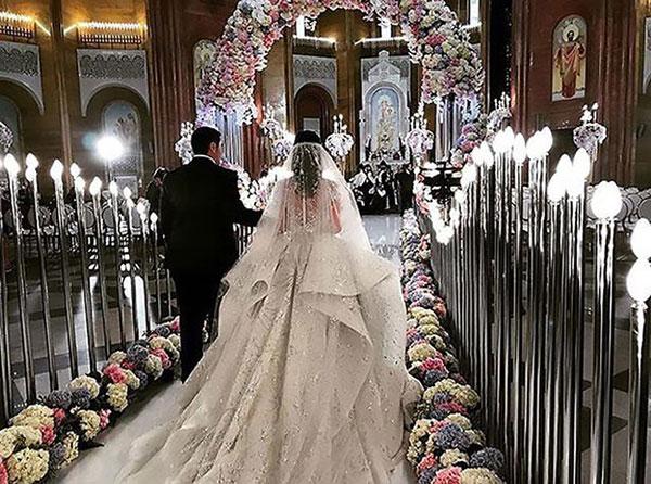 Đám cưới xa hoa bậc nhất của con trai ông trùm bất động sản Nga - 3