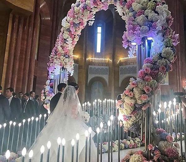 Đám cưới xa hoa bậc nhất của con trai ông trùm bất động sản Nga - 4