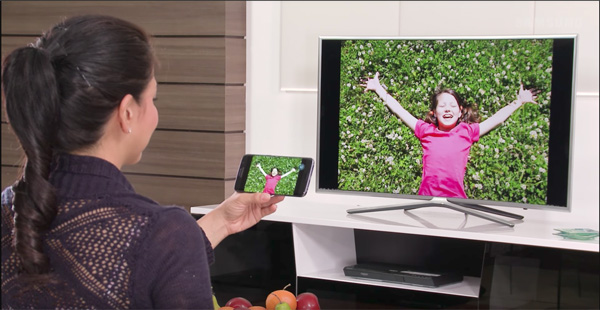 """Thực hiện """"ảo thuật"""" độc đáo bằng Smart View trên TV Samsung - 4"""