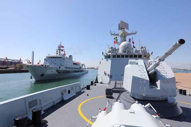 Nga-Trung tập trận hải quân rầm rộ sát Triều Tiên làm gì? - 3
