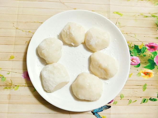 Công thức làm bánh mochi nhân đậu đỏ mềm dẻo, đơn giản tại nhà - 6