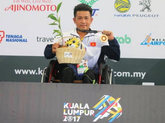 """Việt Nam đón """"cơn mưa Vàng"""" qua mặt Thái Lan tại Para Games - 4"""
