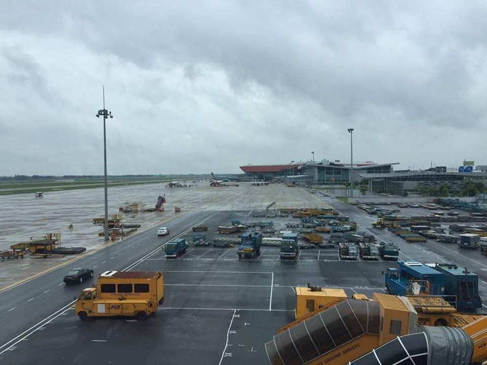 Lái xe đầu kéo đâm tử vong nhân viên sân bay Nội Bài - 1
