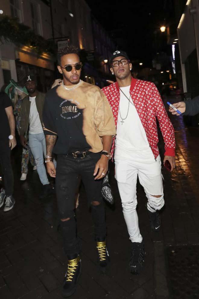 Tin HOT thể thao 19/9: Lewis Hamilton giúp Neymar giải sầu - 1