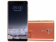 Nokia 9 lộ diện, màn hình tràn cạnh như Samsung Galaxy S8