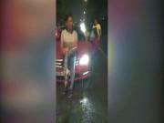 Trường Giang va chạm giao thông trong đêm, thách thức quay clip