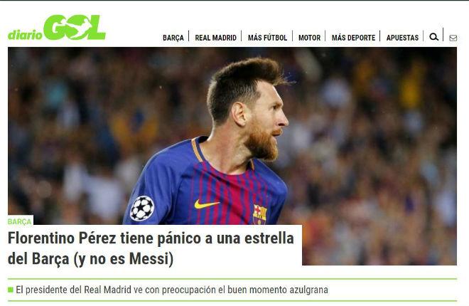 """Messi 9 bàn/5 trận: Báo chí thế giới choáng váng, gọi là """"vị Thần"""" ở Barca - 5"""