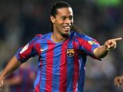 Tin HOT bóng đá sáng 20/9: Ronaldinho chờ tái hợp Barca