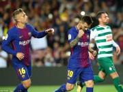 """Messi 9 bàn/5 trận: Báo chí thế giới choáng váng, gọi là """"vị Thần"""" ở Barca"""