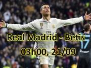 Real Madrid – Real Betis: Ronaldo trở lại, xoay chuyển càn khôn