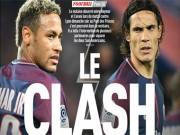 Neymar đấu đá Cavani: PSG vung tiền dẹp loạn, Messi cười thầm