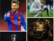 Messi 9 - Ronaldo 0: Cuộc đua Quả bóng vàng, FIFA The Best sẽ có biến?