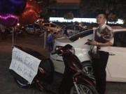 Chàng soái ca tặng nàng xe SH ở Hà Nội gây xôn xao